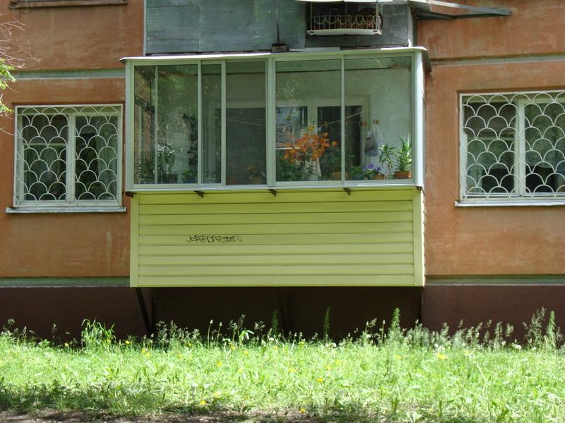 Балконы на первом этаже цена. - балконы - каталог статей - у.